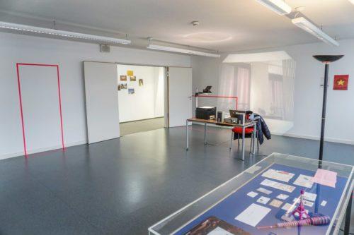 The real Retour de Paris, 2018, Foundation Centre Culturel Franco-Allemand Karlsruhe